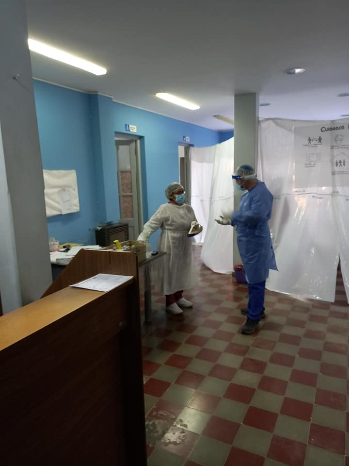 Vacunación en Patagones